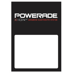 Powerade Low Tac Cling