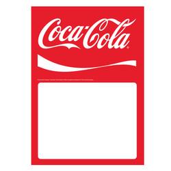 Coke Low Tac Cling