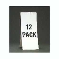 """11 1/8"""" Spiral Soda Descriptive Pad - White"""