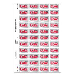 Diet Coke Flavor Sheet