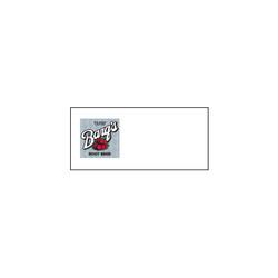 Barq's Logo Runner Tag