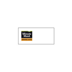 Minute Maid Orange Juice Logo Runner Tag