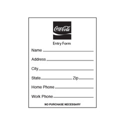 Coke Entry Pads