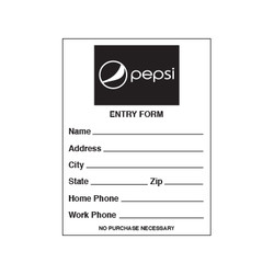 Pepsi Entry Pads