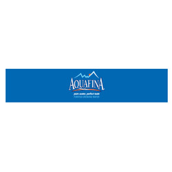 Aquafina Runner Tags on a Roll