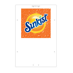 "Exterior Pole Sign - 32"" x 48"" Sunkist"
