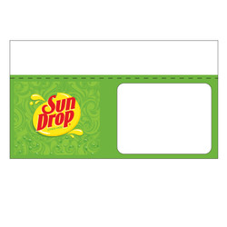 "Shelf talker - 10"" x 6.25"" Sundrop"