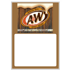 A&W Low Tac Cling