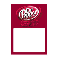 Dr Pepper Low Tac Cling