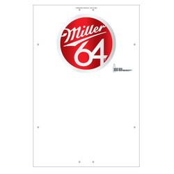 "Exterior Pole Sign - 32"" x 48"" Miller 64"