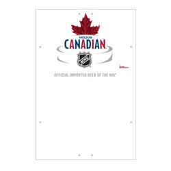 "Exterior Pole Sign - 32"" x 48"" Molson Canadian"