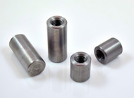 1/2 x 13 steel threaded weld in steel bung standoff