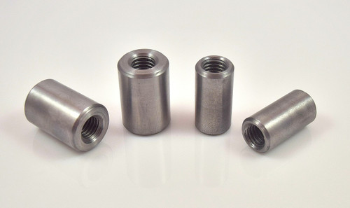 "Steel weld on handlebar riser bung 1/2"" x 13 thread"