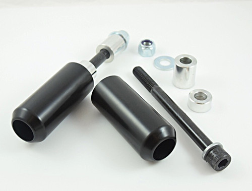 upper shock slider kit frame slider delrin sportster dyn fxr