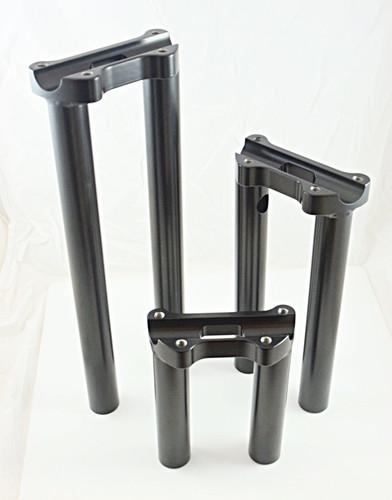 one piece riser dyna sportster steel