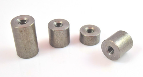 "5/16"" x 18 threaded mild steel weld on bung weld nut"