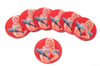Show'em poker chips pin up girl