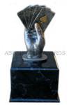 Poker Trophy - Big Slick Pedestal