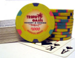 Tropic Oasis $1000 poker chip