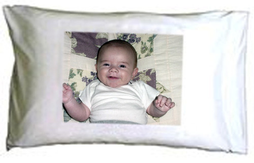 Custom personalized photo pillowcase