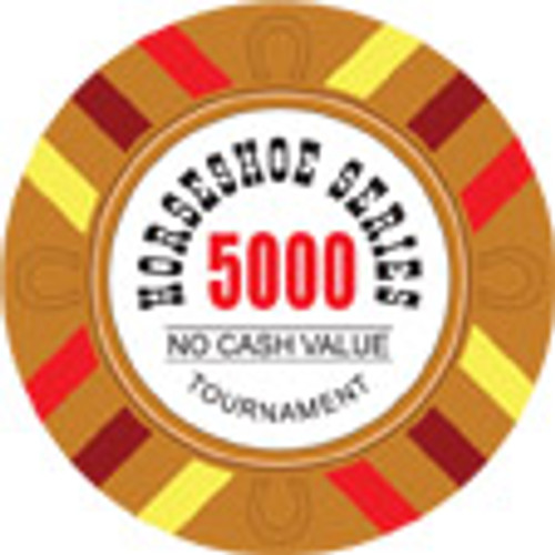Horseshoe Poker Chips 5000