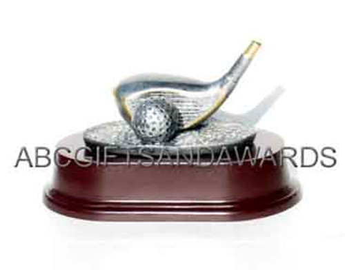 Golf driver trophy - longest drive award