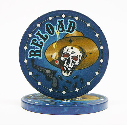 Nevada Jack Reload Poker Chip