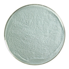 Bullseye Glass Aquamarine Blue Transparent, Frit, Powder, 5 oz jar 001108-0008-F-OZ05