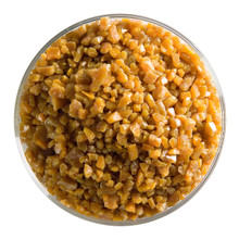 Bullseye Glass Butterscotch Opal, Frit, Coarse, 1 lb jar 000337-0003-F-P001
