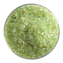 Bullseye Glass Chartreuse Transparent, Frit, Medium, 1 lb jar 001126-0002-F-P001