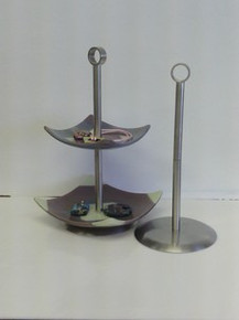 Aanraku Two Tiered Tea Server Hardware or Plate Holder