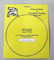 Separating Diamond Blade-Gryphon Zephyr Ring Saw