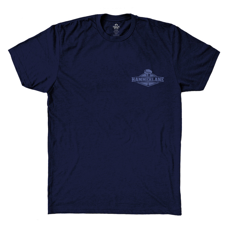 Out Of The Blue Hammer Lane Trucker T-Shirt Front