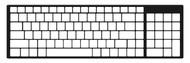 A2Z Keyboard Keyguard