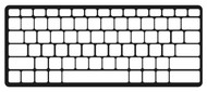 Amazon Wireless Keyboard Keyguard