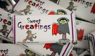 Halloween Chocolate Bars