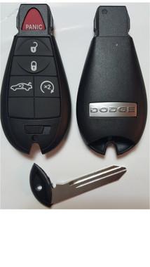 dodge 5 button charger or challenger complete fob fobik. Black Bedroom Furniture Sets. Home Design Ideas