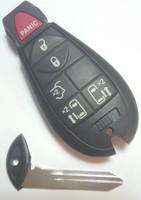 Dodge 6 Btn keyless Remote Fob Fobik Smart Key Remote start Power OEM 2008 2009 2010 2011 2012 2013 2014 2015 2016