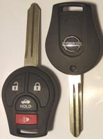 Nissan 4 button Smart remote head key OEM 2005-2016 NV1500 NV2500,NV3500,Frontier Armada Cube Juke Murano Rogue Titan Sentra Versa Quest Infiniti FX35 FX45