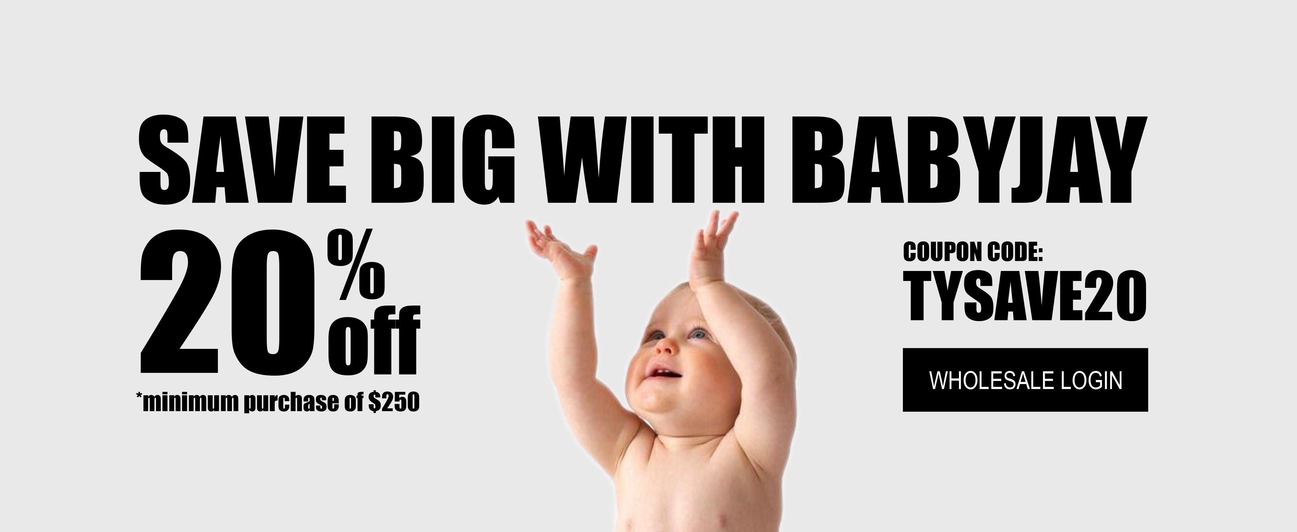 cheap baby onesies, bulk sale, bulk baby items, sale, baby jay, babyjay