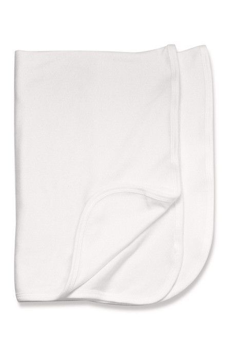 White Receiving Blanket