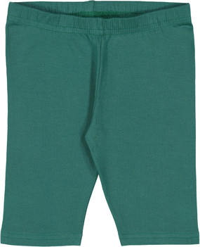 Fitted Short Leggings- Bottle Green- WHOLESALE