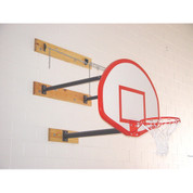 Gared Sports 2350 2-3ft. Three Point Stationary Wall Mount Basketball Goal