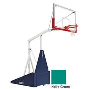 Kelly GreenIndoor Portable Porter 735 Adjustable Height Basketball System