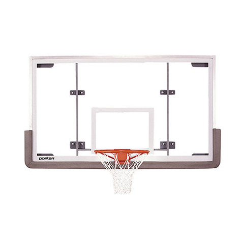 Porter Pro Strut Conversion Official Glass Basketball Backboard