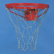 Bison Steel Chain No-Tie Super Basketball Goal Net for Outdoor Rims