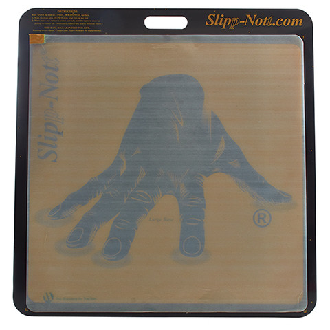 Slipp-Nott Base and Pad 26x26 Inch with 75 Sheets to Clean Basketball Shoes for Court