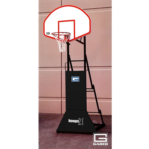 Gared Sports Hoops 21 3-on-3 Tournament Portable Basketball Goal