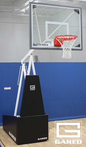 Gared Sports Hoopmaster R54 Portable Basketball Goal