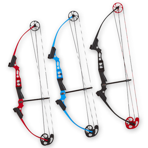 Blue Left Hand Genesis Mini Bow for Young Archery Students